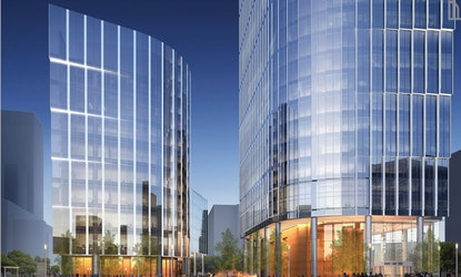 Mennica Legacy Tower - Budynek Zachodni, Pereca 21