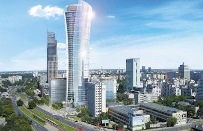 Warsaw Spire Budynek A - Wieża, Europejski 1